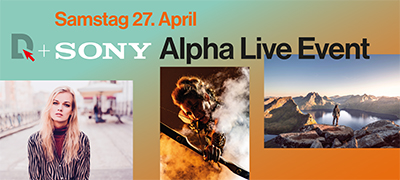 DIGITALSTORE + SONY Alpha Live Event