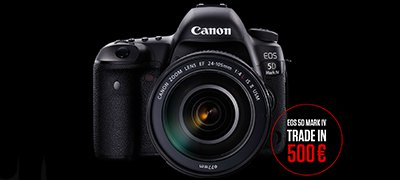 CANON EOS 5D Mark IV Trade In